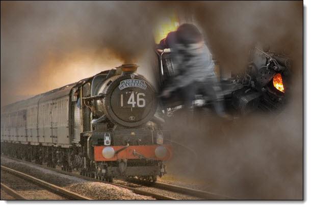7-Steam Train